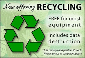 Free recycling. Find out more.